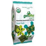 GimMe Roasted Seaweed Snack Sea Salt